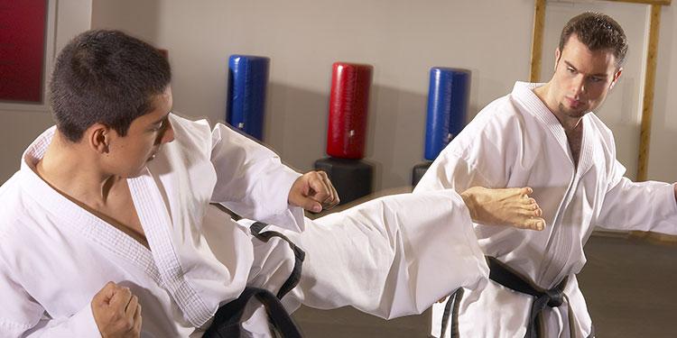 martial arts men